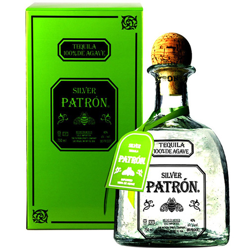 Patron (Mexico) Silver Tequila 750ml