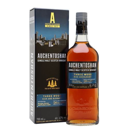 Auchentoshan (Scotland) Lowland Three Wood Single Malt