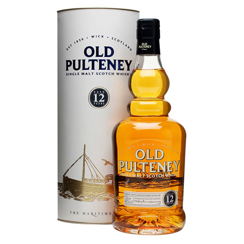 Old Pulteney (Scotland) 12 Yr old Highland Single Malt 700ml