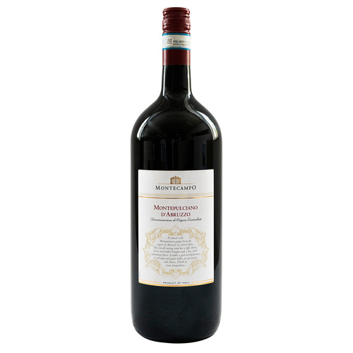 Montecampo (Italy) Montepulciano 2018 1.5 Ltr