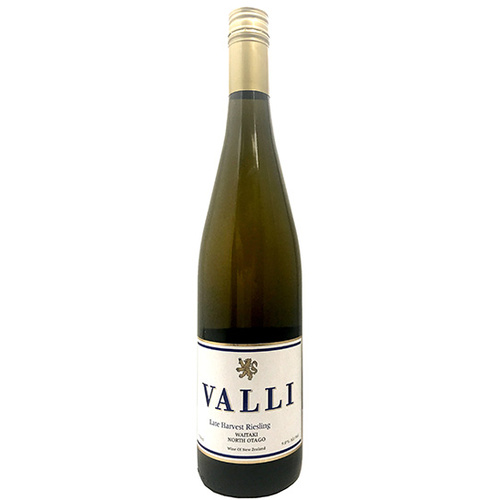 Valli (Waitaki) 2015 Late Harvest Riesling
